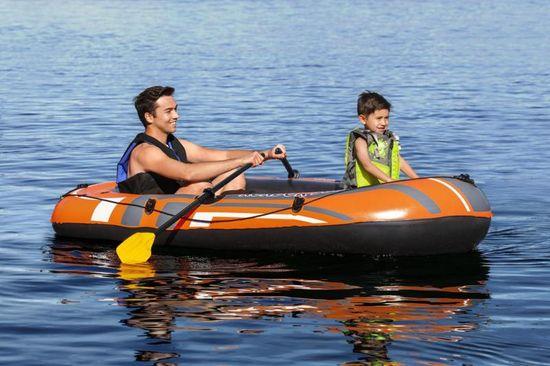 Bestway Felfújható Kondor 300 csónak lapátokkal és szivattyúval, 232x115cm