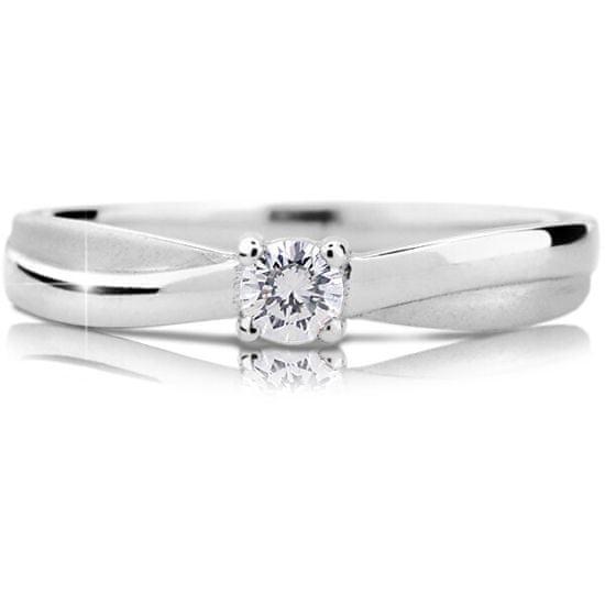 Cutie Diamonds Luxus fehérarany eljegyzési gyűrű gyémánttal DZ6817-1906-00-X-2 fehér arany 585/1000