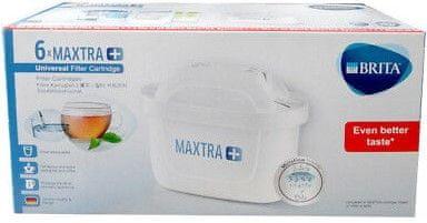Brita MAXTRA+ filtry 6 ks, bílá