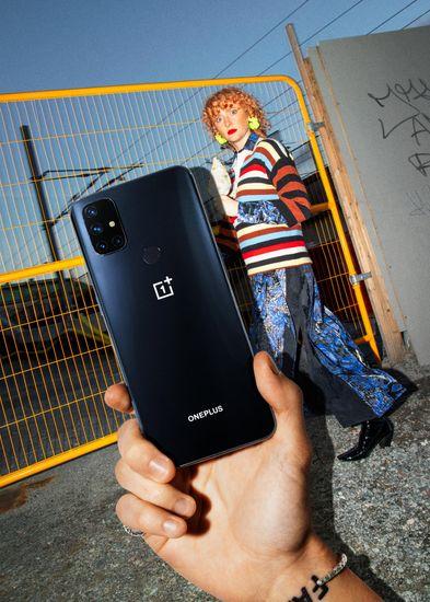 OnePlus Nord N10 5G mobilni telefon, 6GB/128GB, Midnight Ice