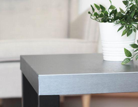 d-c-fix Samolepicí fólie d-c-fix platino stříbrná 202-5203, kovové šířka: 90 cm