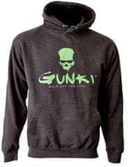 GUNKI Mikina s kapucí Gunki DARK SMOKE XXL