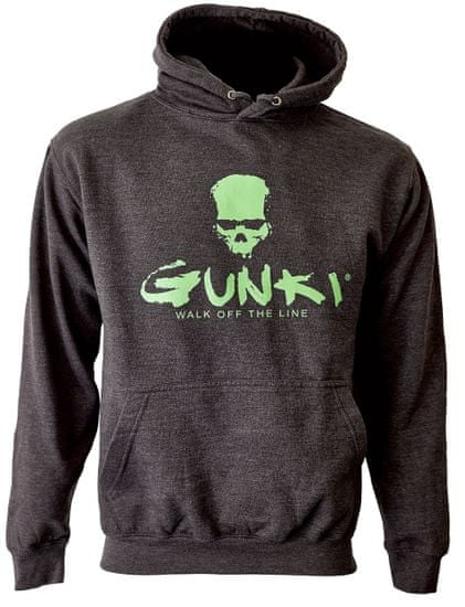 GUNKI Mikina s kapucí Gunki DARK SMOKE