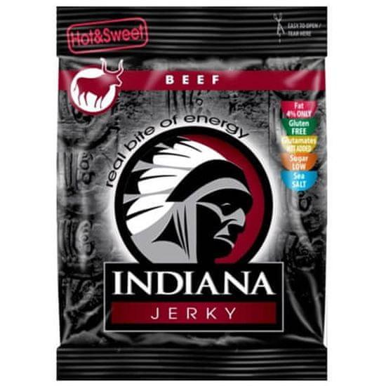 Indiana Jerky hovězí Hot & Sweet 25 g