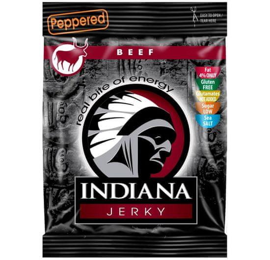 Indiana Jerky hovězí Peppered 25 g