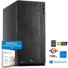PCplus Dream Machine gaming namizni računalnik (140272) + DARILO: 1 leto Microsoft 365 Personal