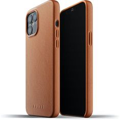 Mujjo usnjeni ovitek Full Leather Case za iPhone 12 Pro Max MUJJO-CL-009-TN, rumeno-rjava