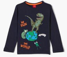 s.Oliver chlapecké tričko 404.10.102.12.130.2058014 116/122 tmavě modrá