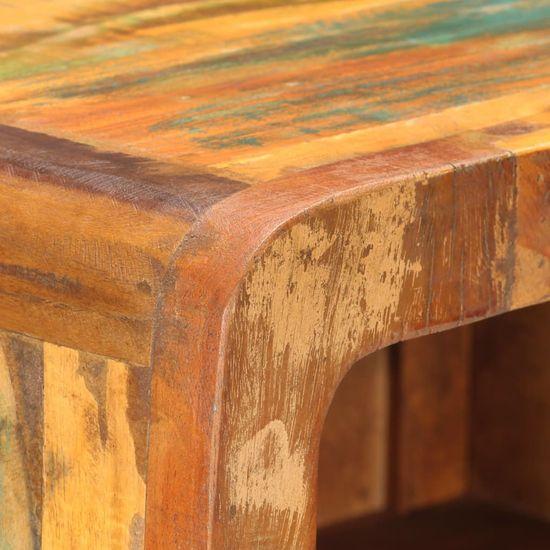 shumee Visoka omarica 45x32x110 cm trden predelan les