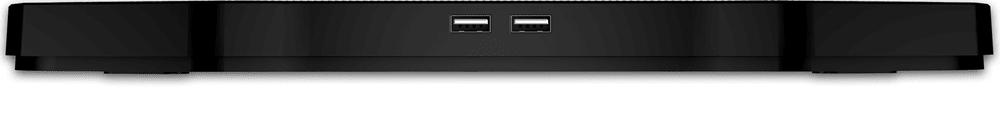 Connect IT Chladící podložka pod notebook CCP-2200-BK, černá