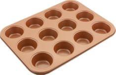 Lamart Forma na 12 muffinů COPPER LT3092 35,5 × 26,5, měď