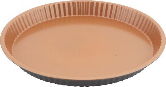 Lamart Forma na koláč COPPER LT3097 31 × 3 cm, měď