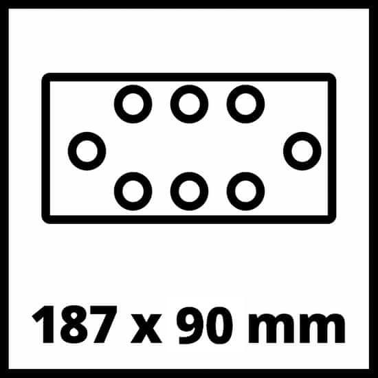 Einhell akumulatorski vibracijski brusilnik TC-OS 18/187 Li-Solo (4460725)