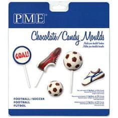 PME Plastová forma na lízátka fotbal