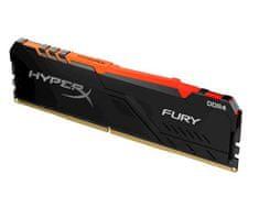 Kingston HyperX Fury PC3466 RGB pomnilnik, DDR4 16 GB, 3466 MHz (HX434C17FB4A/16)