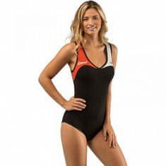 Cressi Női neoprén fürdőruha DEA 1 mm narancs-fekete XL - 44