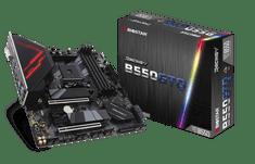 Biostar Racing B550GTQ osnovna plošča, AM4, DDR4, USB 3.2 Gen2, mATX
