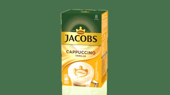 Jacobs Cappuccino Vanilija, 8 x 18,5 g