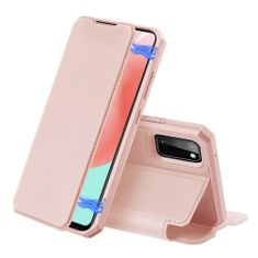 Dux Ducis Skin X knjižni usnjeni ovitek za Samsung Galaxy A41, roza