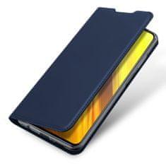 Dux Ducis Skin Pro knjižni usnjeni ovitek za Xiaomi Poco M3 / Redmi 9T, modro