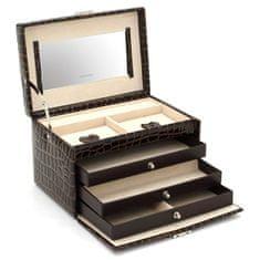 Friedrich Lederwaren Škatla za nakit rjava / bež Jolie 23254-34