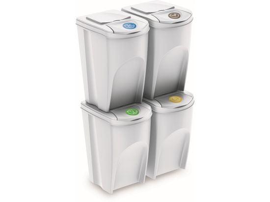 M.A.T Group szemeteskosár a hulladék szelektálására 4 x 35l BÍ