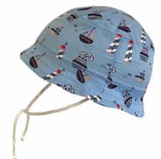 Yetty Fiú kalap hajókkal LB 543, XS, kék