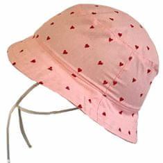 Yetty Lány kalap szívecskékkel LB 558, L, rózsaszín
