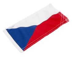 Vlajky.EU Vlajka ČR na motorku - Top Kvalita vlajka - 22 x 11 cm - tunel