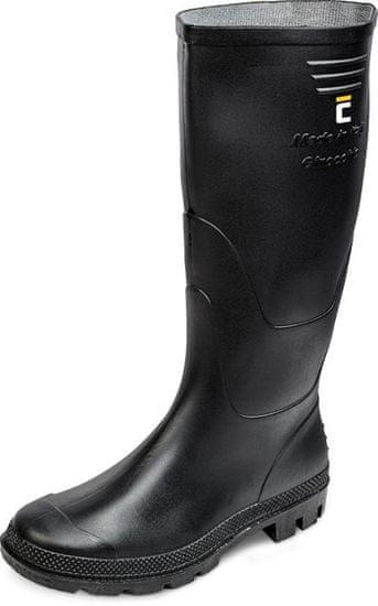 Cerva Čižmy boots Ginocchio, čierna 38, Pvc, záhradné