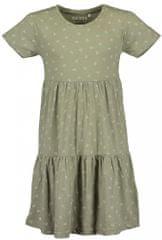 Blue Seven dívčí šaty 528078 X_1 140 zelená