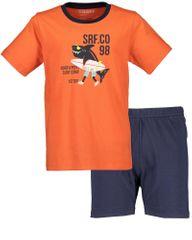 Blue Seven chlapecké pyžamo 638506 X 92 oranžová