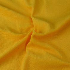 Brotex  Froté prestieradlo sýto žltá, 200x200 cm