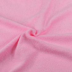 Brotex  Froté prestieradlo ružová, 120x200 cm
