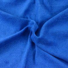 Brotex  Froté detské prestieradlo tmavo modré, 70x140 cm