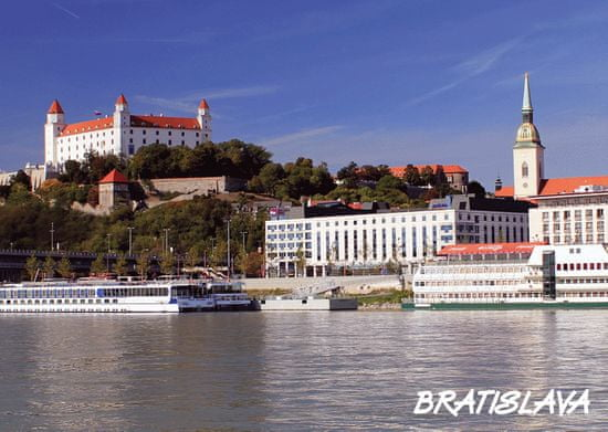tvorme 3D pohľadnica Bratislava - leto/zima