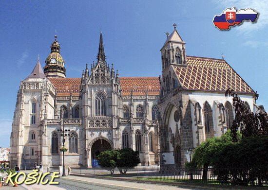 tvorme 3D pohľadnica Košice - leto/zima