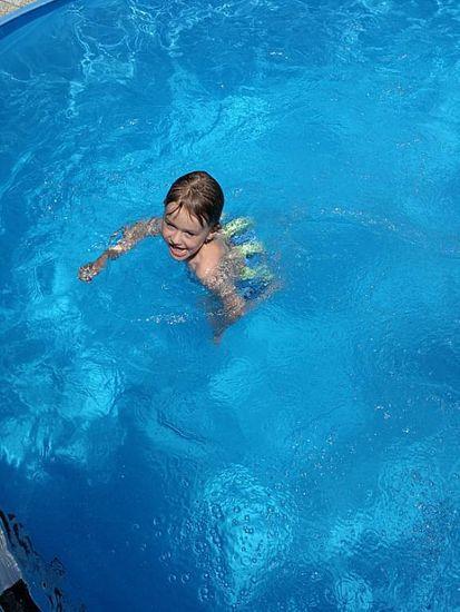 AGAMA Plavecký pás SWIM (7 dielov / do 14 kg)