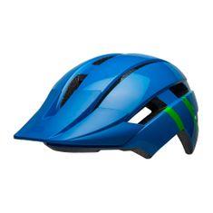 Bell kask rowerowy Sidetrack II Youth Blue/Green