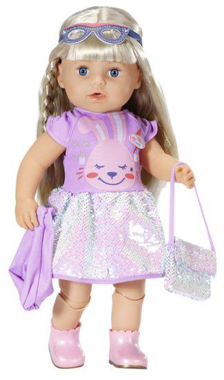 BABY born Deluxe komplet oblek, rojstnodnevna serija, 43 cm