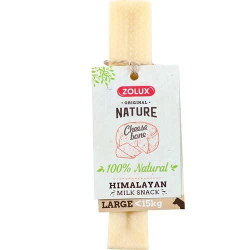 Zolux SAJTCSONT LARGE természetes himalájai tej csemege 15kg-ig