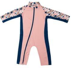 Stonz Sun Suit kupaći kostim za djevojčice, 80 - 86, ružičasti