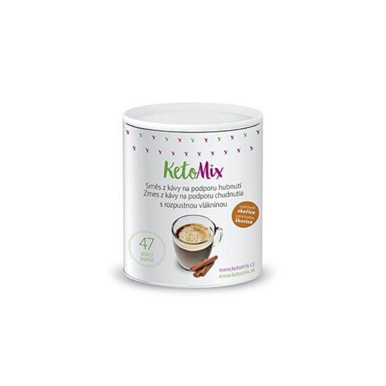KetoMix Instantní káva na podporu hubnutí s příchutí skořice 94 g