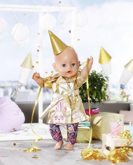 BABY born jakna in hlače - rojstnodnevna serija, 43 cm