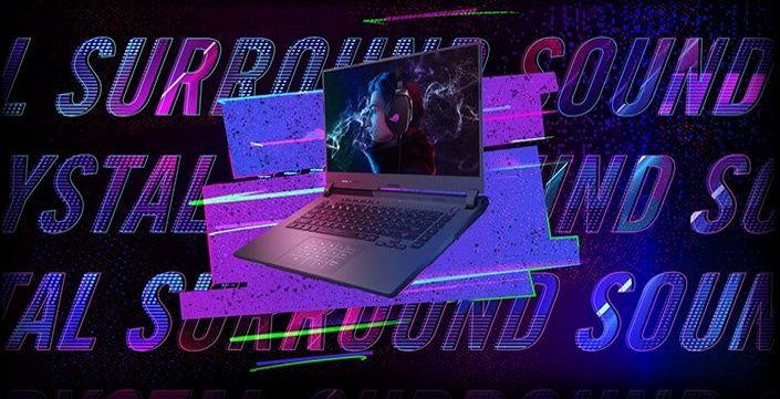 Herní notebook ASUS ROG Strix G15 15,6 palců