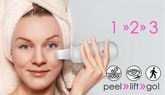 Beauty Relax Ultra sound szpatułka Peel & Lift BR-1300W biała