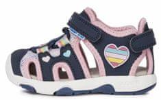 Geox B150DA 05014 C4243 Sandal Multy dekliški sandali, temno modre, 23