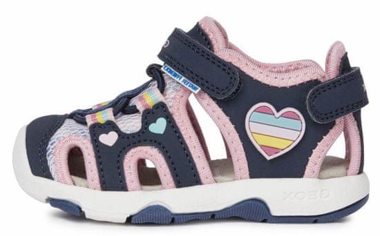 Geox B150DA 05014 C4243 Sandal Multy dekliški sandali