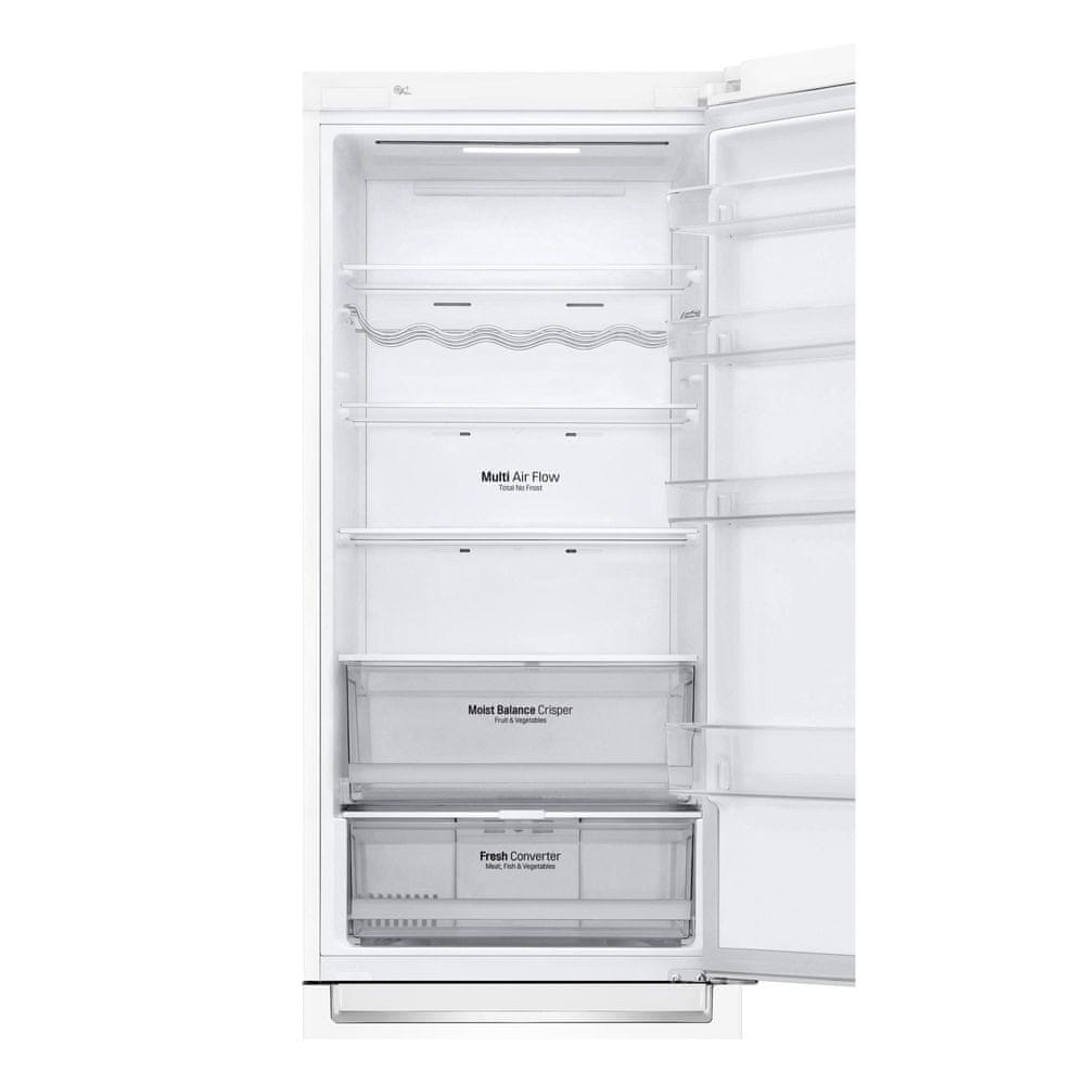 LG lednice s mrazákem GBB62SWFFN + 10 let záruka na kompresor
