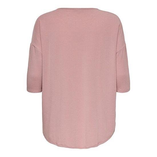 Only Carmakoma Ženska majica CARLAMOUR 15229806 Adobe Rose
